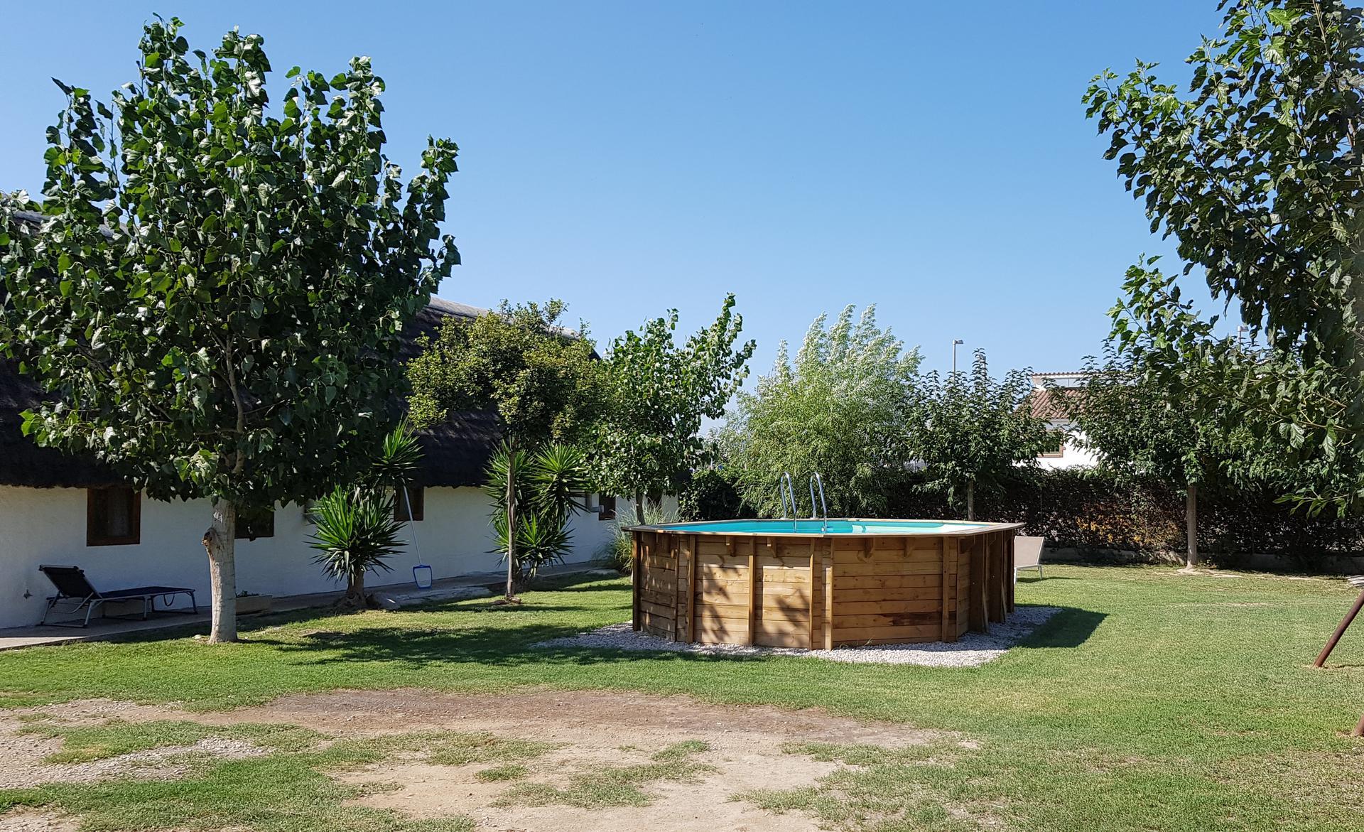Casa rural -                                       Sant Jaume D´enveja -                                       3 dormitoris -                                       8 ocupants